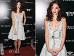 Kaya Scodelario In Chanel - 'The Truth About Emanuel' LA Premiere
