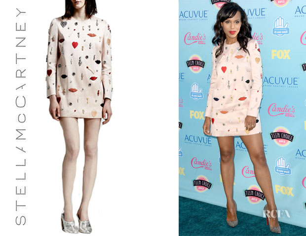 Kerry Washington's Stella McCartney Embellished Shift Dress