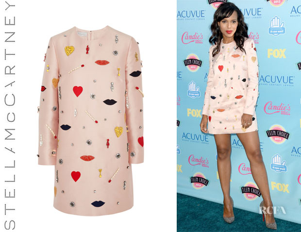 Kerry Washington's Stella McCartney Embellished Shift Dress1