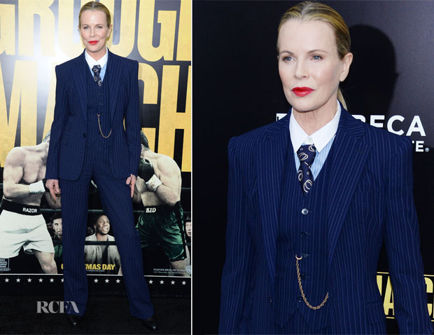 Kim Basinger In Ralph Lauren Collection - 'Grudge Match' New York Screening