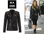 Kim Kardashian's BLK DNM Leather Jacket