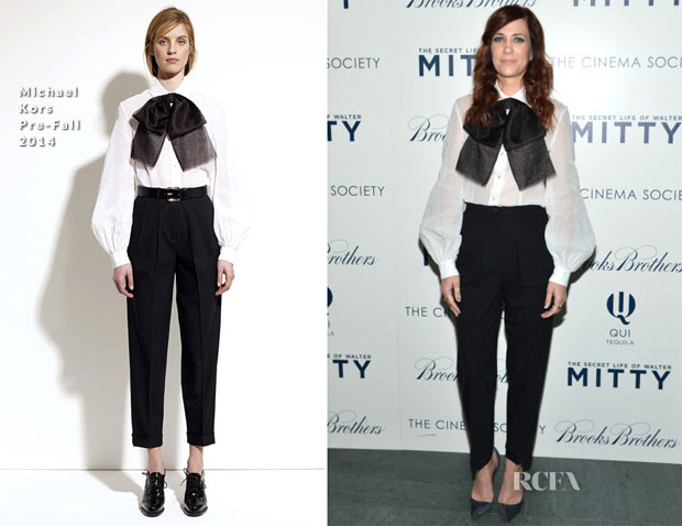 Kristen Wiig In Michael Kors – 'The Secret Life Of Walter Mitty' New York Screening2