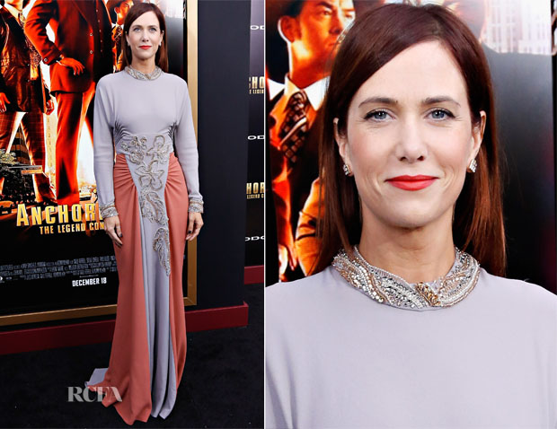 Kristen Wiig In Prada - 'Anchorman 2 The Legend Continues' New York Premiere