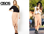 Kylie Jenner's ASOS Wrap Pencil Skirt