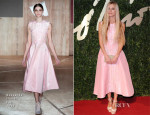 Laura Bailey In Roksanda Ilincic - British Fashion Awards 2013
