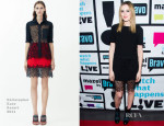 Laura Carmichael In Christopher Kane - Watch What Happens Live
