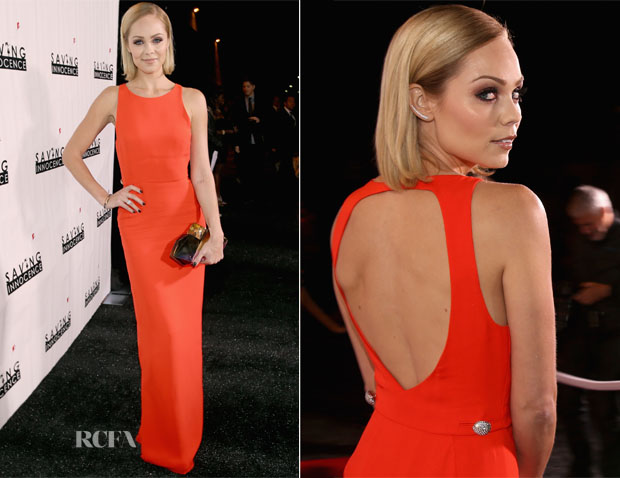 Laura Vandervoort In Raoul - 2nd Annual Saving Innocence Gala