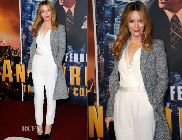 Leslie Mann In Viktor & Rolf  - 'Anchorman 2 The Legend Continues' London Premiere
