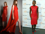 Lupita Nyong'o In Elie Saab - '12 Years a Slave' Paris Premiere