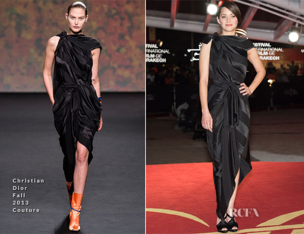 Marion Cotillard In Christian Dior Couture - Marrakech Film Festival Closing Awards Ceremony