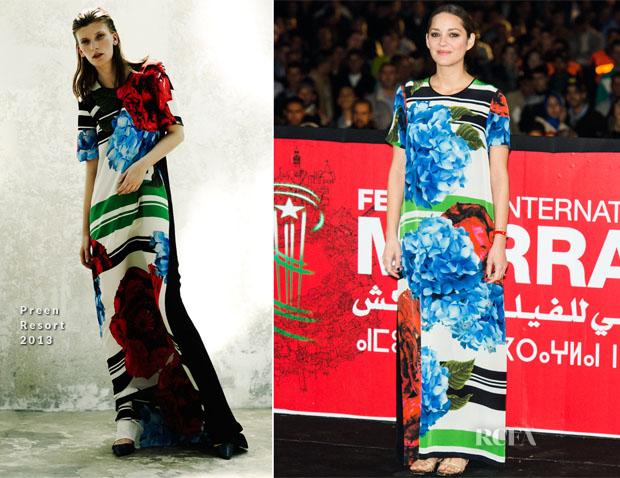 Marion Cotillard In Preen - 'Public Enemies' Marrakech Film Festival Presentation