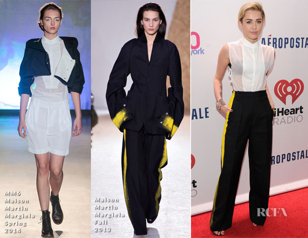 Miley Cyrus In Maison Martin Margiela - Z100's Jingle Ball 2013