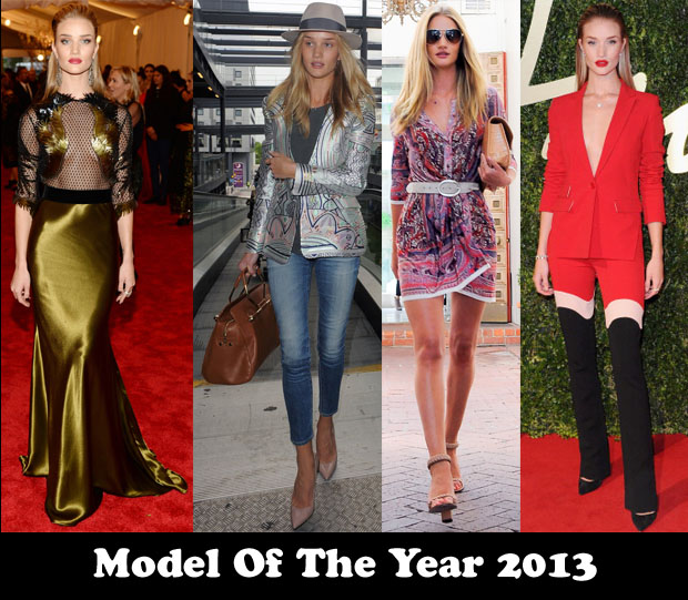 Model of the Year 2013 - Rosie Huntington-Whiteley