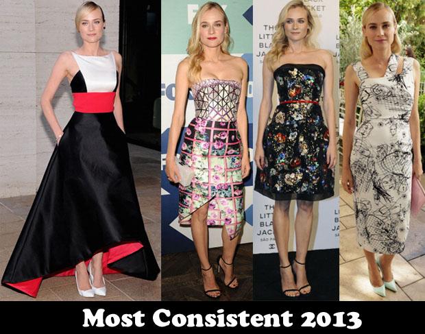 Most Consistent 2013 – Diane Kruger