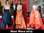 Most Worn 2013 – Christian Dior's Hoop Skirt