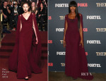 Naomi Campbell In Zac Posen - 'The Face' Australia Photocall