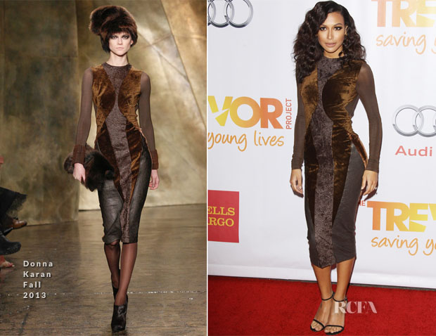 Naya Rivera In Donna Karan - The Trevor Project's 'TrevorLIVE LA' Event Honouring Jane Lynch