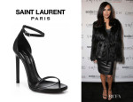 Naya Rivera's Saint Laurent 'Janis' Sandals