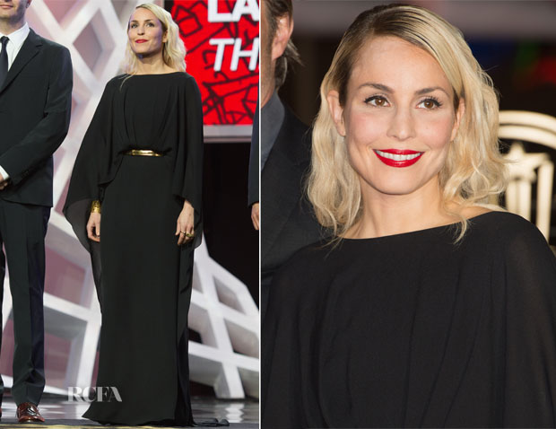 Noomi Rapace In Elie Saab - 'Waltz for Monica' Marrakech Film Festival Premiere