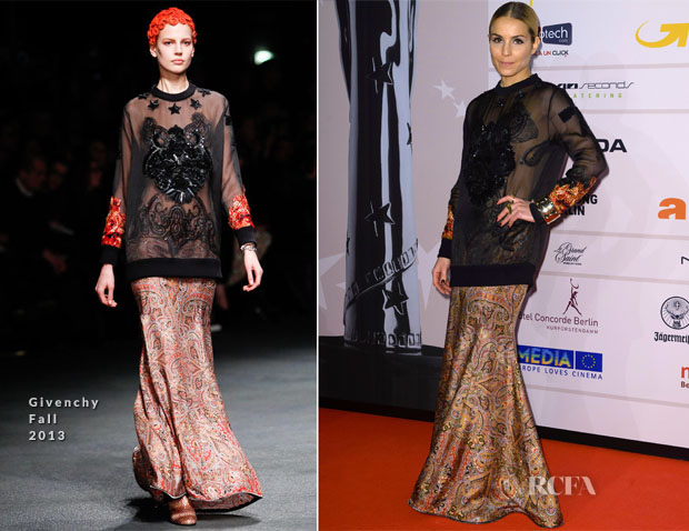 Noomi Rapace In Givenchy - European Film Awards 2013