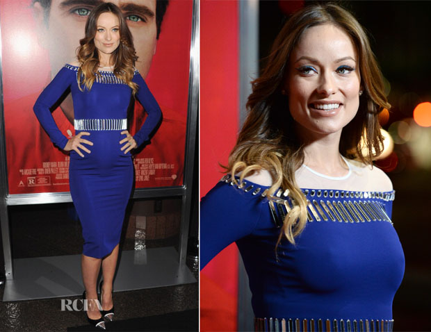 Olivia Wilde In David Koma - 'Her' LA Premiere