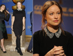 Olivia Wilde In Jason Wu - Golden Globe Awards Nominations Announcement