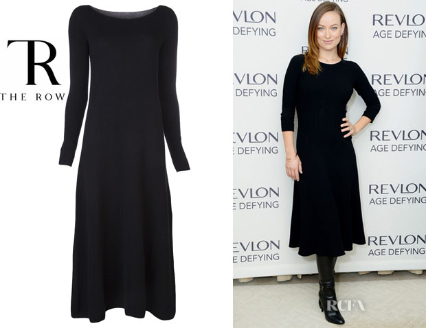Olivia Wilde's The Row 'Stasia' Dress