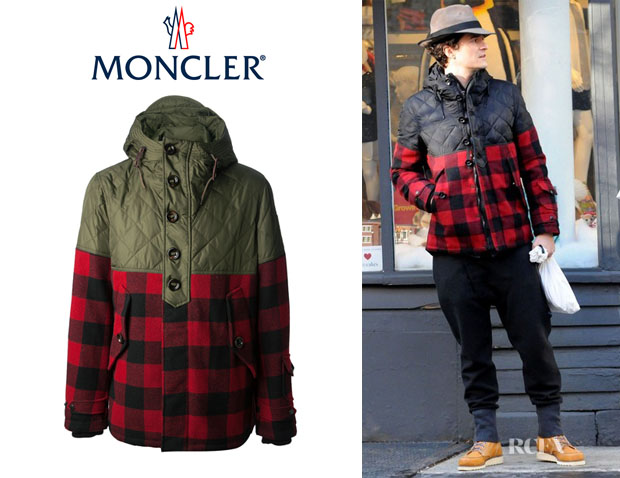 Orlando Bloom's Moncler Button Up Jacket