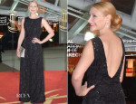 Patricia Clarkson In Christian Dior -  'A Thousand Times Good Night' Marrakech International Film Festival Premiere
