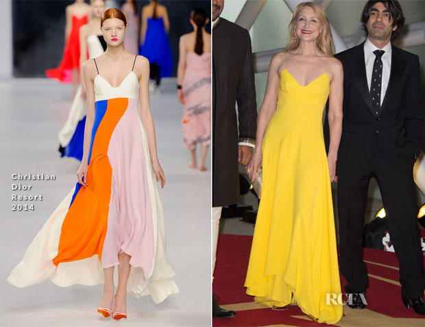 Patricia Clarkson In Christian Dior - Marrakech International Film Festival Opening Ceremony