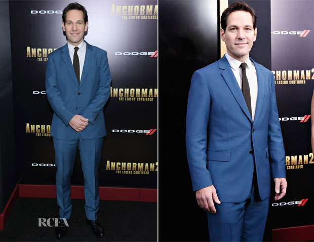 Paul Rudd In Prada S14 - 'Anchorman 2 The Legend Continues' New York Premiere