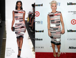 Pink In Hervé Léger By Max Azria - 2013 Billboard Annual Women in Music Event