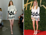 Poppy Delevingne In Emilia Wickstead - British Fashion Awards 2013
