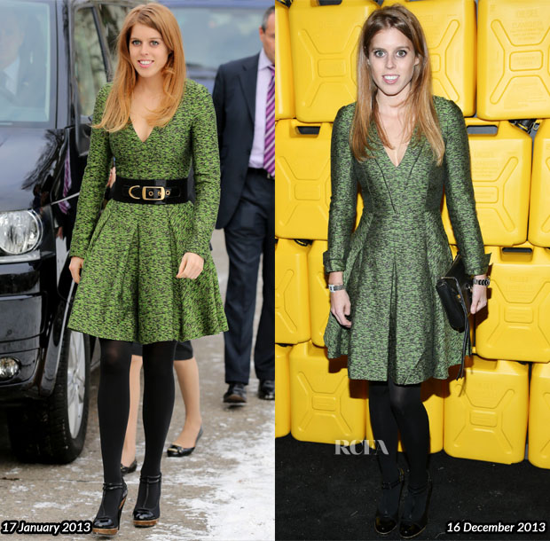 Princess Beatrice In Jonathan Saunders  - 8th Annual Charity Ball Gala