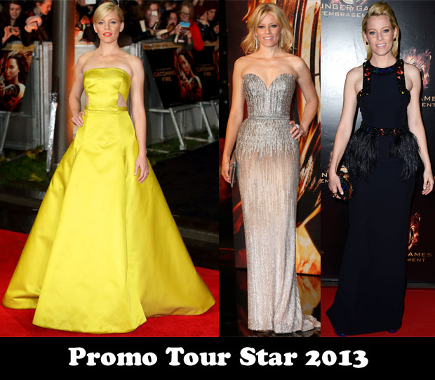Promo Tour Star 2013 – Elizabeth Banks for 'The Hunger Games Catching Fire'
