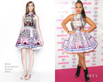 Rebecca Ferguson In Mary Katrantzou - Cosmopolitan Ultimate Women of the Year Awards
