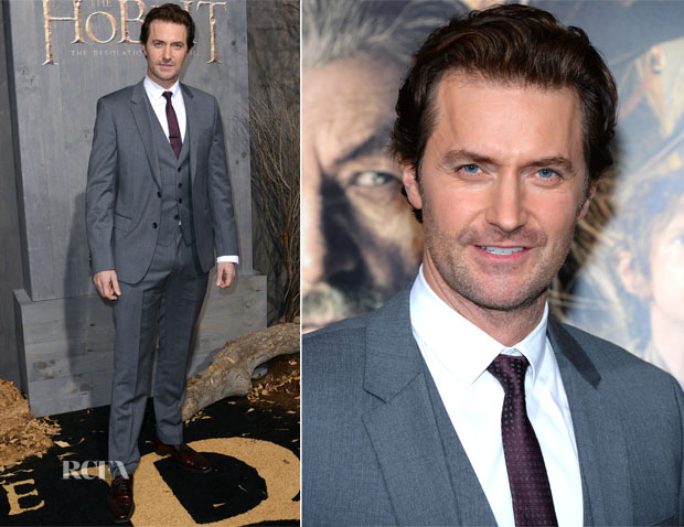 Richard Armitage In Hugo Boss - 'The Hobbit The Desolation Of Smaug' LA Premiere