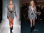 Rosie Huntington-Whiteley In Balmain - AEM Association Children Of The World For Rwanda Charity Dinner