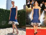 Sandra Bullock In Carolina Herrera - 'Gravity' Tokyo Premiere