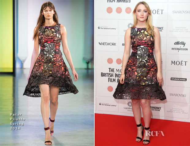 Saoirse Ronan In Peter Pilotto -  British Independent Film Awards 2013