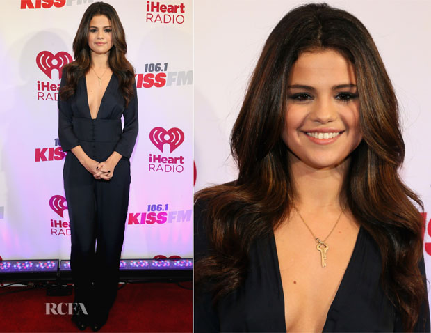 Selena Gomez in Zara - 1061 KISS FM's Jingle Ball 2013