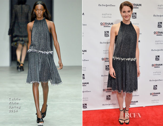 Shailene Woodley In Calvin Klein Collection - 23rd Annual Gotham Independent Film Awards