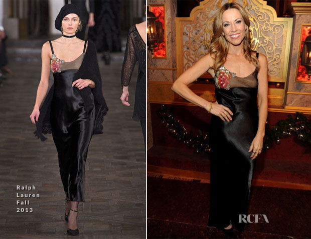 Sheryl Crow In Ralph Lauren - TNT's Christmas in Washington 2013