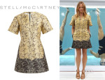 Stella McCartney's Stella McCartney Python Printed Dress