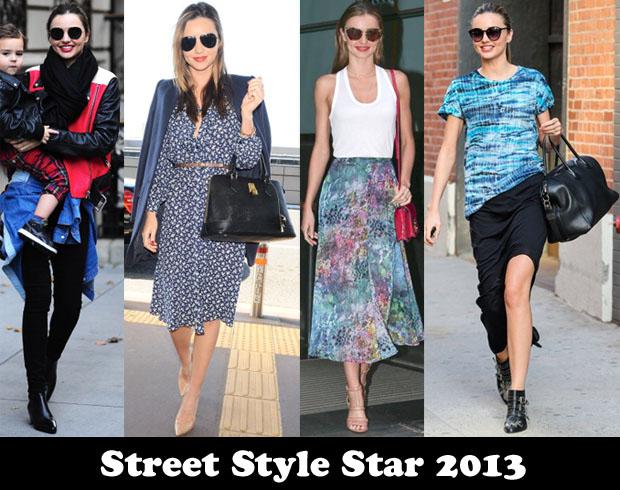 Street Style Star 2013 – Miranda Kerr