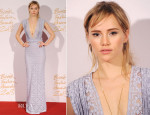 Suki Waterhouse In Burberry Prorsum - British Fashion Awards 2013