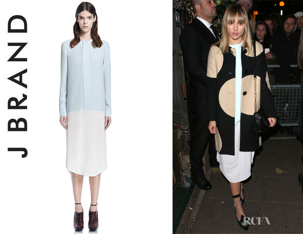 Suki Waterhouse's J Brand 'Maarja' Dress