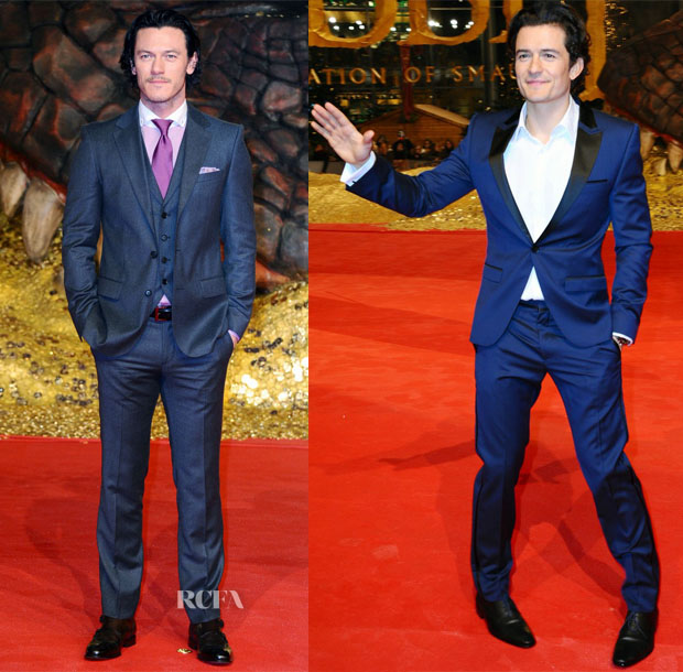 'The Hobbit The Desolation Of Smaug' Berlin Premiere Menswear Roundup 2
