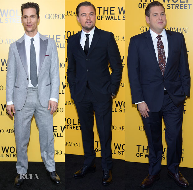 'The Wolf of Wall Street' New York Premiere Menswear Roundup