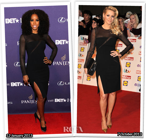 Who Wore Emilio Pucci Better Kelly Rowland or Tess Daly